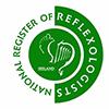 National Register of Reflexologists Ireland logo