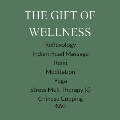 The Gift of Wellness voucher